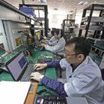 Mederkers Onderzoek & Ontwikeling van Sugon aan e slag in Tianjin (bron: Chinadaily.com)