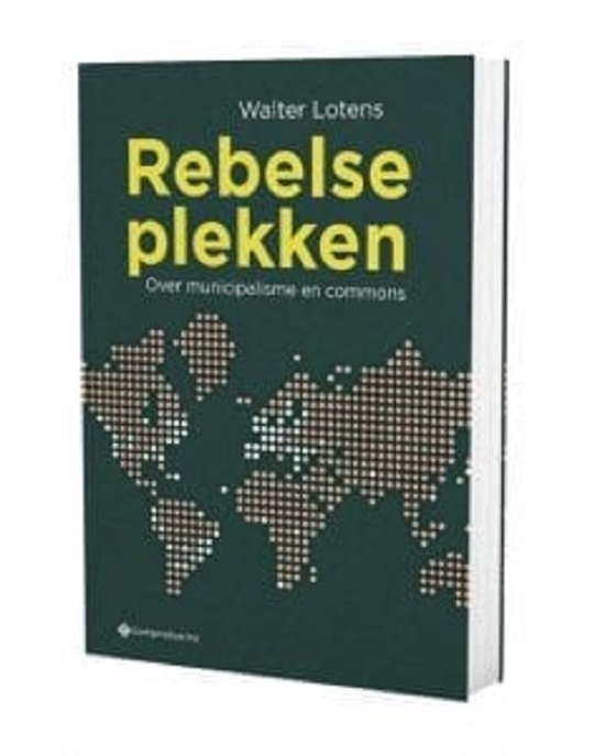 Rebelse plekken Boek omslag