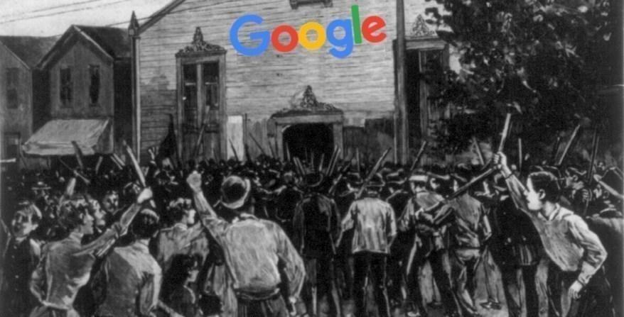 Google lust vakbonden rauw