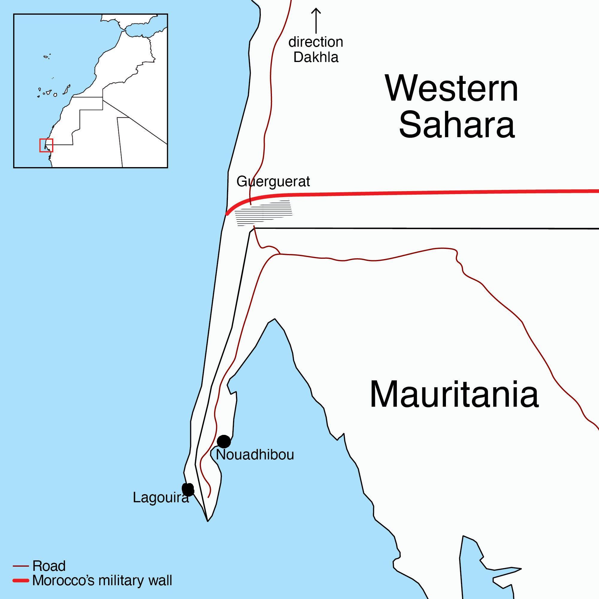 Polisario Front verklaart oorlog aan Marokko na incident in de bufferzone van Westelijke Sahara