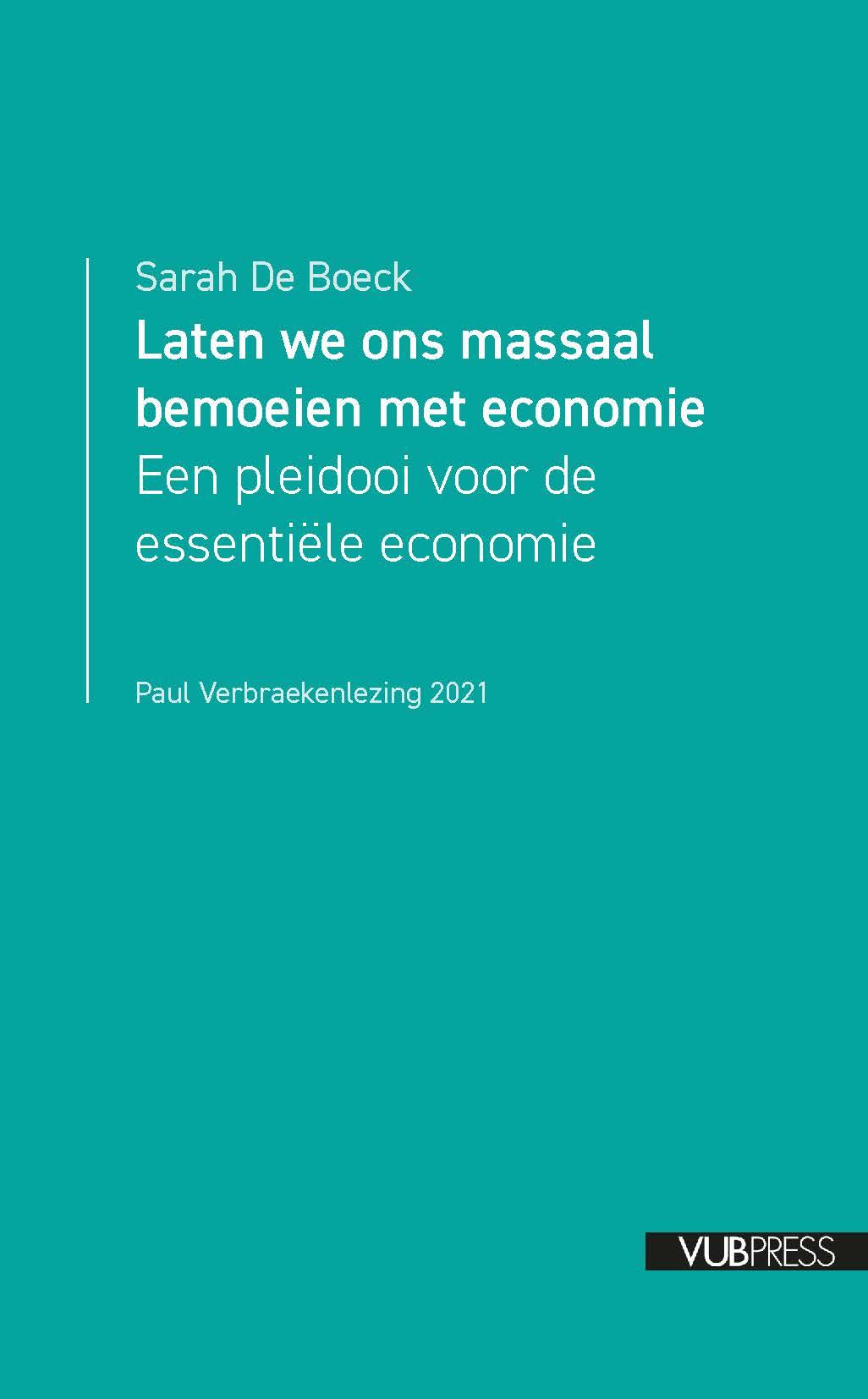 Over 'essentiële economie' en een wateroorlog