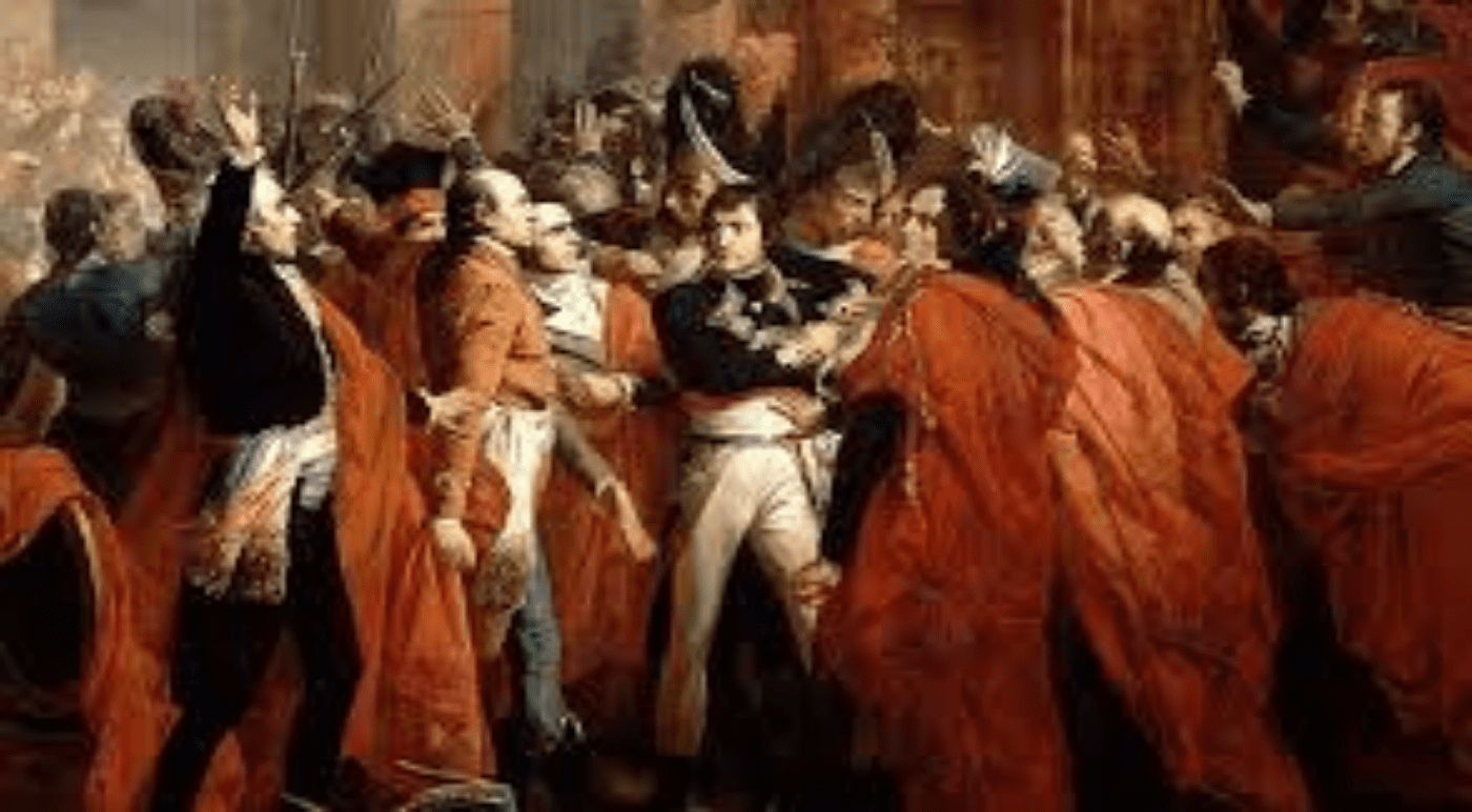 Macron en Napoleon