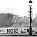 Algerijnen razend op Macron