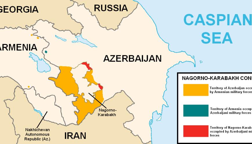Iran niet gerust over Nagorno-Karabach