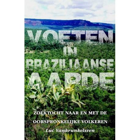 Voeten in Braziliaanse aarde Boek omslag